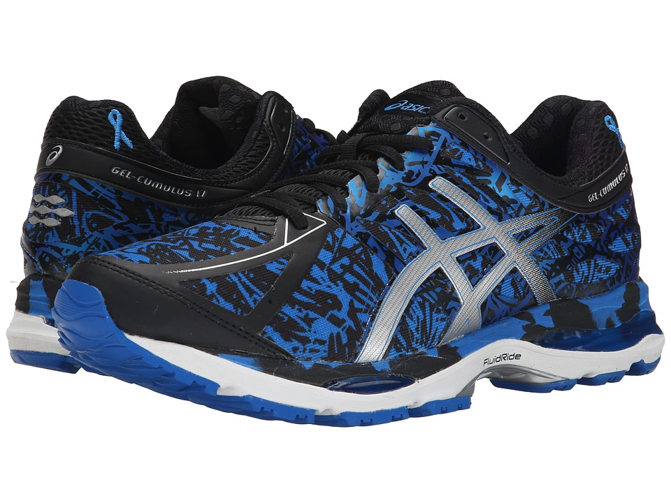 ASICS - Gel-Cumulus 17 BR (Electric Blue/Silver/Blue Ribbon) Men's Running Shoes