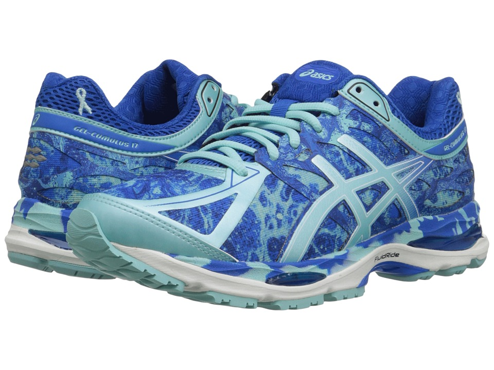 ASICS - Gel-Cumulus 17 BR (Electric Blue/Aqua Splash/Blue Ribbon) Women's Running Shoes