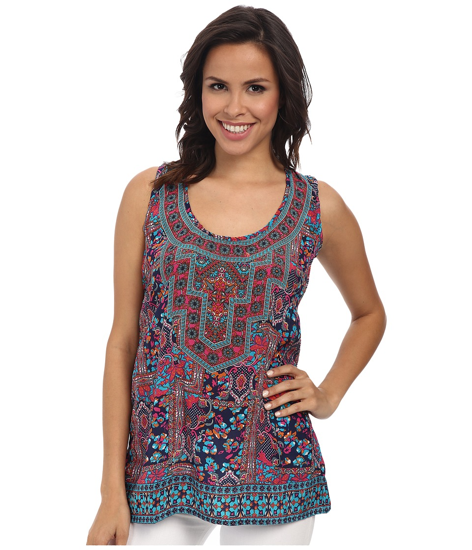 Tolani - Vikki Tank Top (Navy) Women's Sleeveless