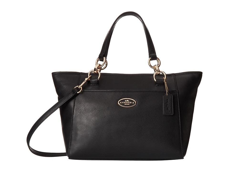 COACH - Chicago Mini Ellis Tote (LI/Black) Tote Handbags