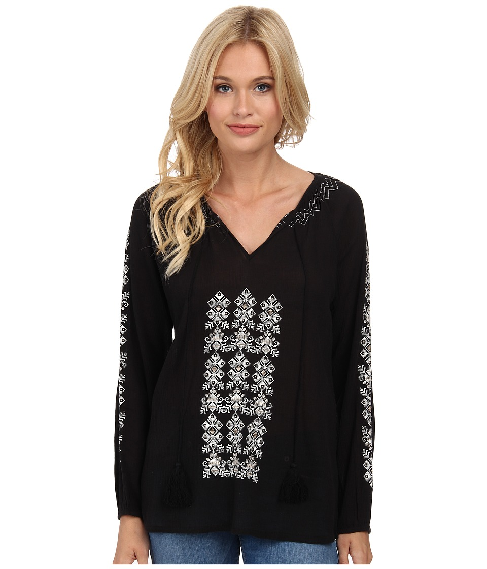 Tolani - Sandra Top (Black) Women's Blouse