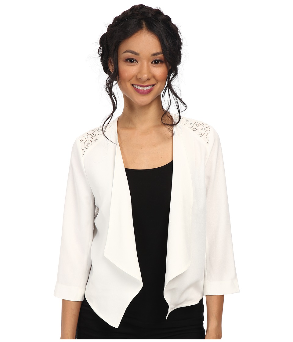 Jack by BB Dakota - Amari Heavy Crepe Jacket (Ivory) Women