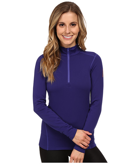 Arc'teryx - Phase SV Zip Neck L/S (Azulene) Women's T Shirt