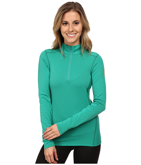 Arc'teryx - Phase SV Zip Neck L/S (Parakeet) Women's T Shirt