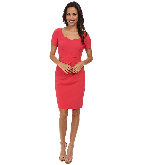 Adrianna Papell - Origami Folded Sheath Dress (Poppy) Women