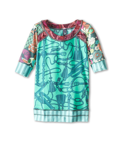 Maaji Kids - Jade Champ Rashguard (Toddler/Little Kids/Big Kids) (Multicolor) Girl's Swimwear