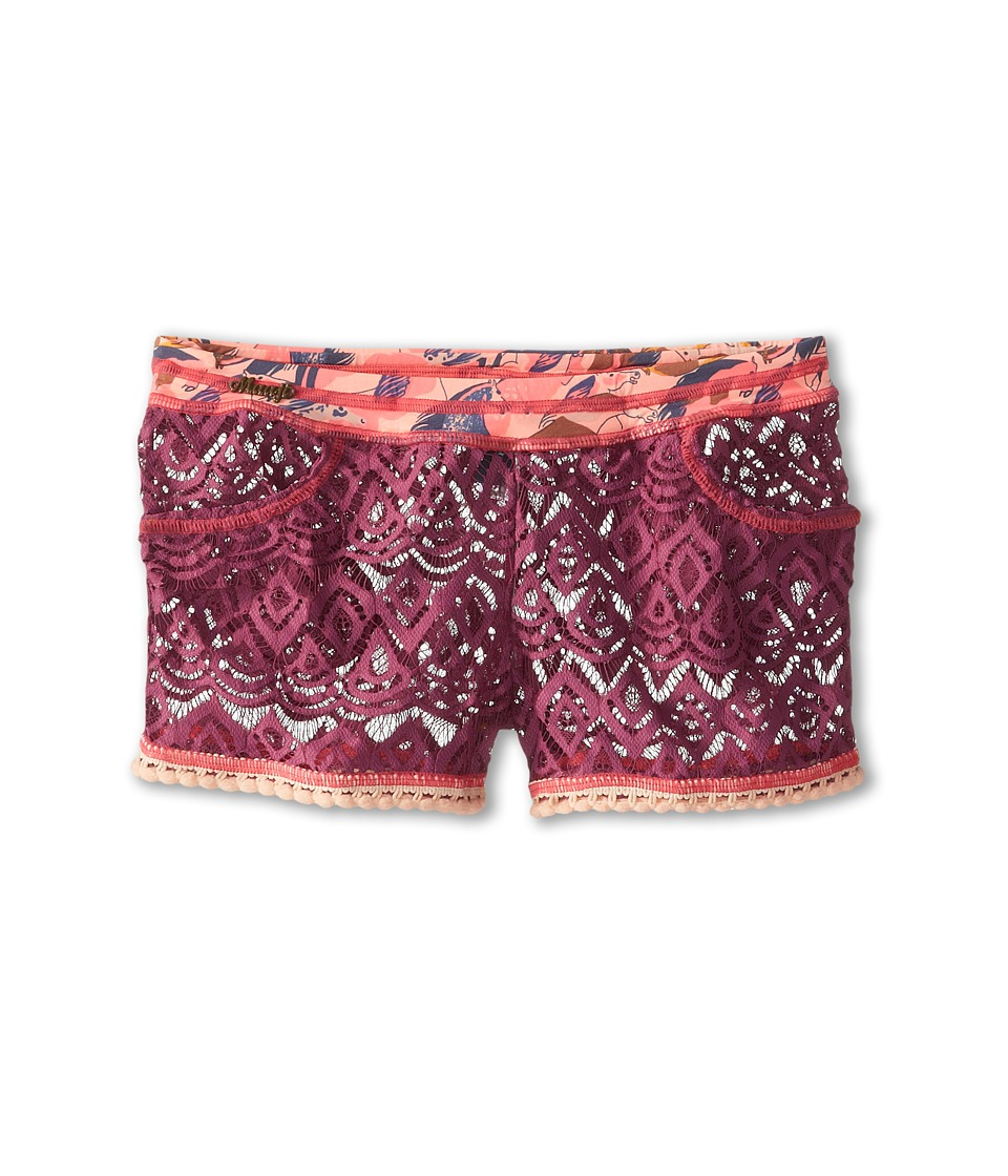 Maaji Kids - Plum Rider Shorts (Toddler/Little Kids/Big Kids) (Multicolor) Girl's Swimwear
