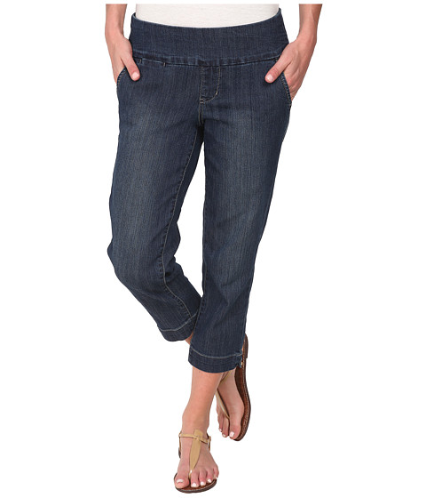 Jag Jeans - Hope Pull-On Crop Slim Fit Comfort Denim in Blue Shadow (Blue Shadow) Women