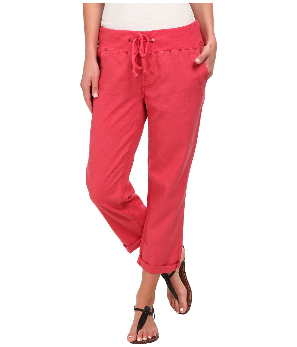 Jag Jeans - Petal Relaxed Slim Fit Capri in Gatsby Linen (Shell) Women