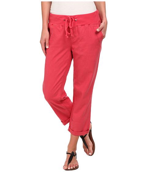 Jag Jeans - Petal Relaxed Slim Fit Capri in Gatsby Linen (Shell) Women's Capri