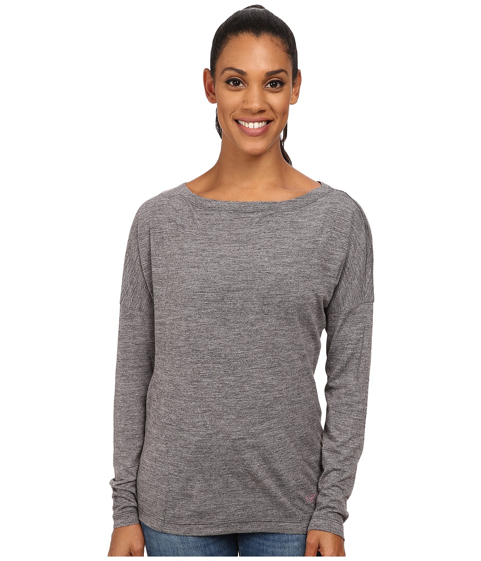 Arc'teryx - Quinn L/S Top (Damson) Women's Clothing