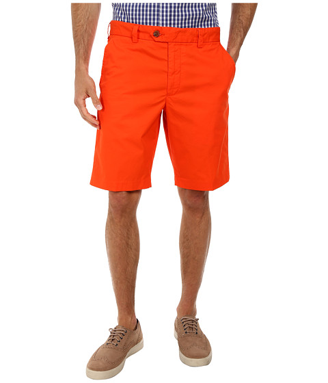 French Connection - Peach Pie Twill (Ayers Red) Men's Shorts