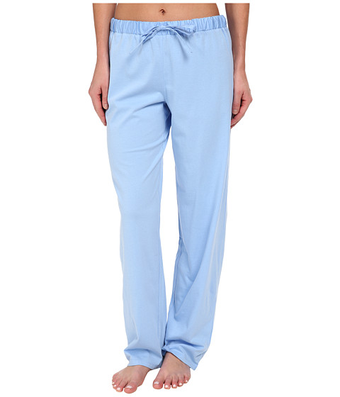 LAUREN by Ralph Lauren - Jardin Du Luxenbourg Pima Knit Long Pant (Riding Blue) Women's Pajama