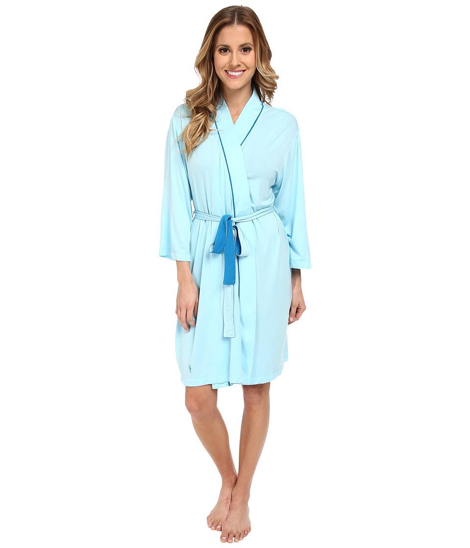 Jockey - Mystic Bay Solid Robe (Bateaux Blue) Women