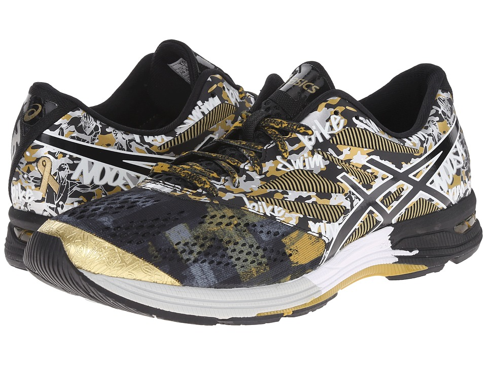 ASICS - Gel-Noosa Tri 10 GR (Black/Onyx/Gold Ribbon) Men's Running Shoes