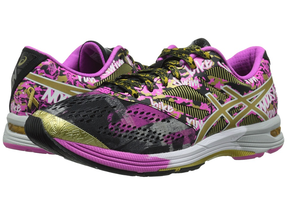 ASICS - Gel-Noosa Tri 10 GR (Black/Gold/Gold Ribbon) Women's Running Shoes