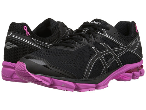 ASICS - GT-1000 4 PR (Black/Silver/Pink Ribbon) Men