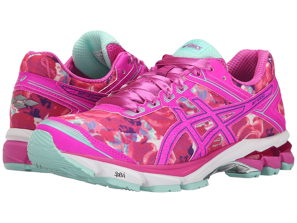 ASICS - GT-1000 4 PR (Pink Glow/Hot Pink/Pink Ribbon) Women's Running Shoes