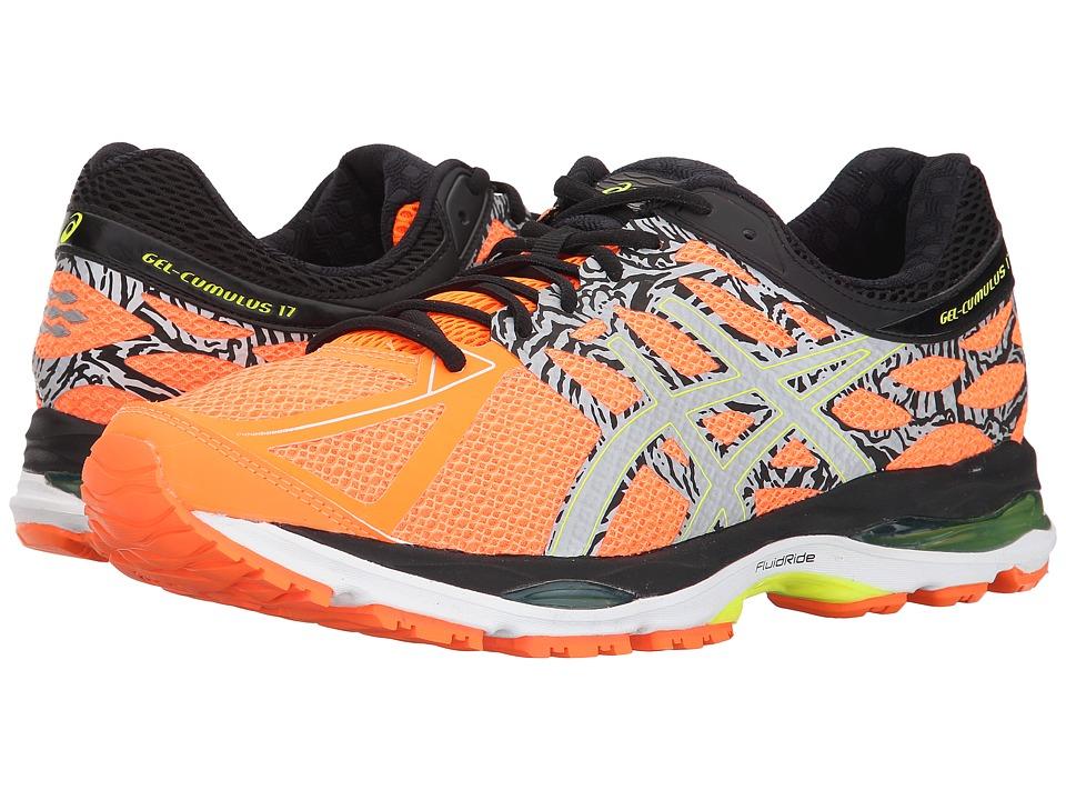 ASICS - Gel-Cumulus(r) 17 Lite-Showtm (Hot Orange/Flash Yellow/Black) Men's Running Shoes
