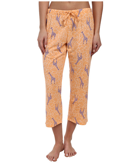 Jockey - The Savannah Giraffe Printed Capri Pant (Gena