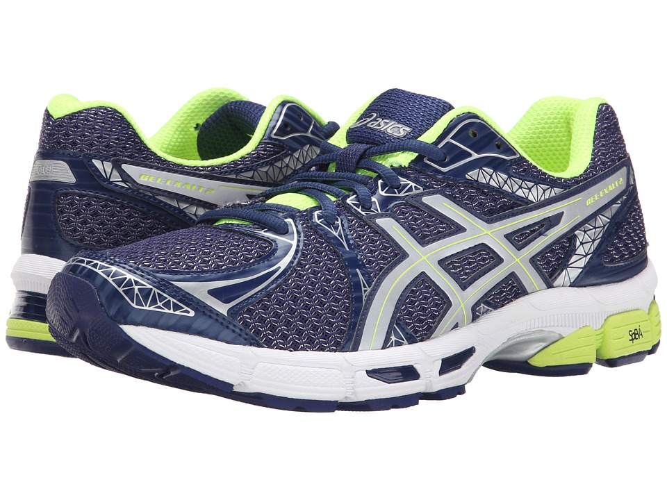 ASICS - GEL-Exalt 2 Lite-Show (Indigo Blue/Silver/Flash Yellow) Men's Running Shoes