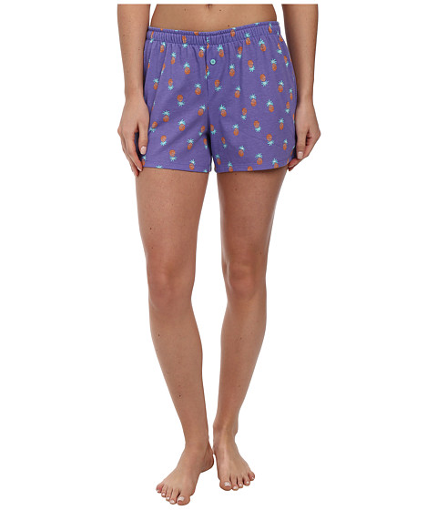 Jockey - The Savannah Pineapple Print Boxer Short (Pineapples) Women