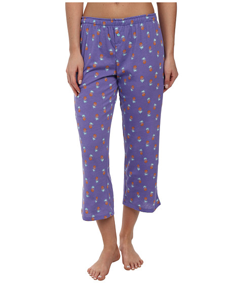 Jockey - The Savannah Pineapple Print Capri Pant (Pineapples) Women's Pajama