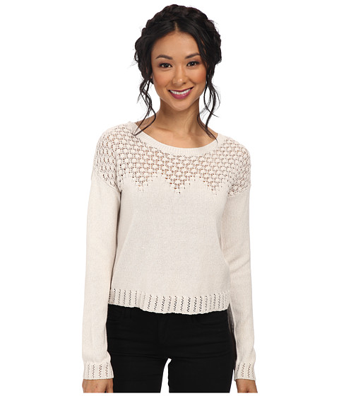 Jack by BB Dakota - Perrie Cotton Blend Sweater (White Cap) Women