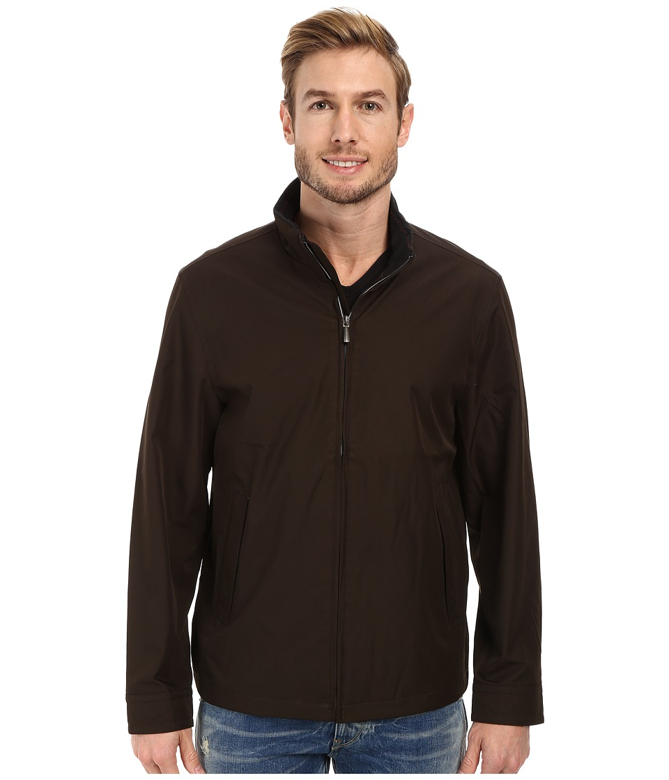 Rainforest - Micro Twill Light Weight Bomber (Caviar) Men's Coat