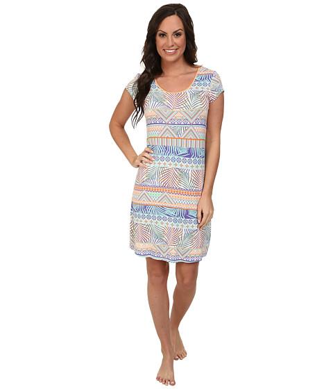 Jockey - The Savannah Tropical Printed Sleepshirt (Tropical Zig Zag) Women