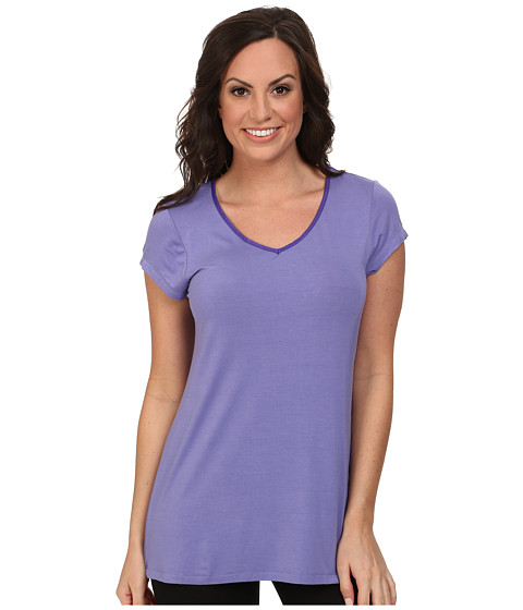 Jockey - The Savannah S/S Top (New Lavender) Women's Pajama