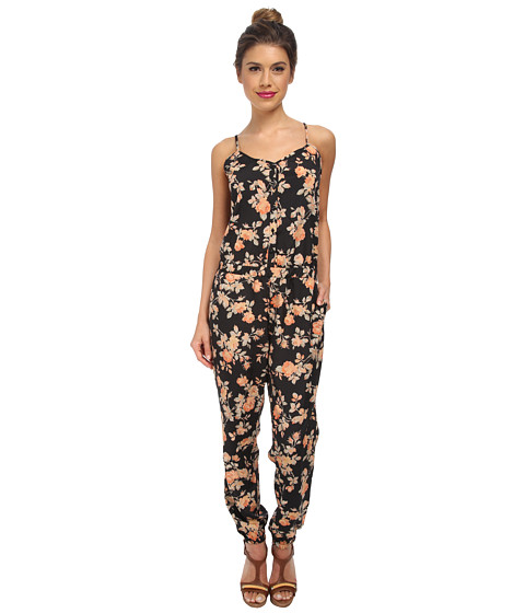 Jack by BB Dakota - Jaylynn Crepon Jumpsuit (Black) Women's Jumpsuit & Rompers One Piece