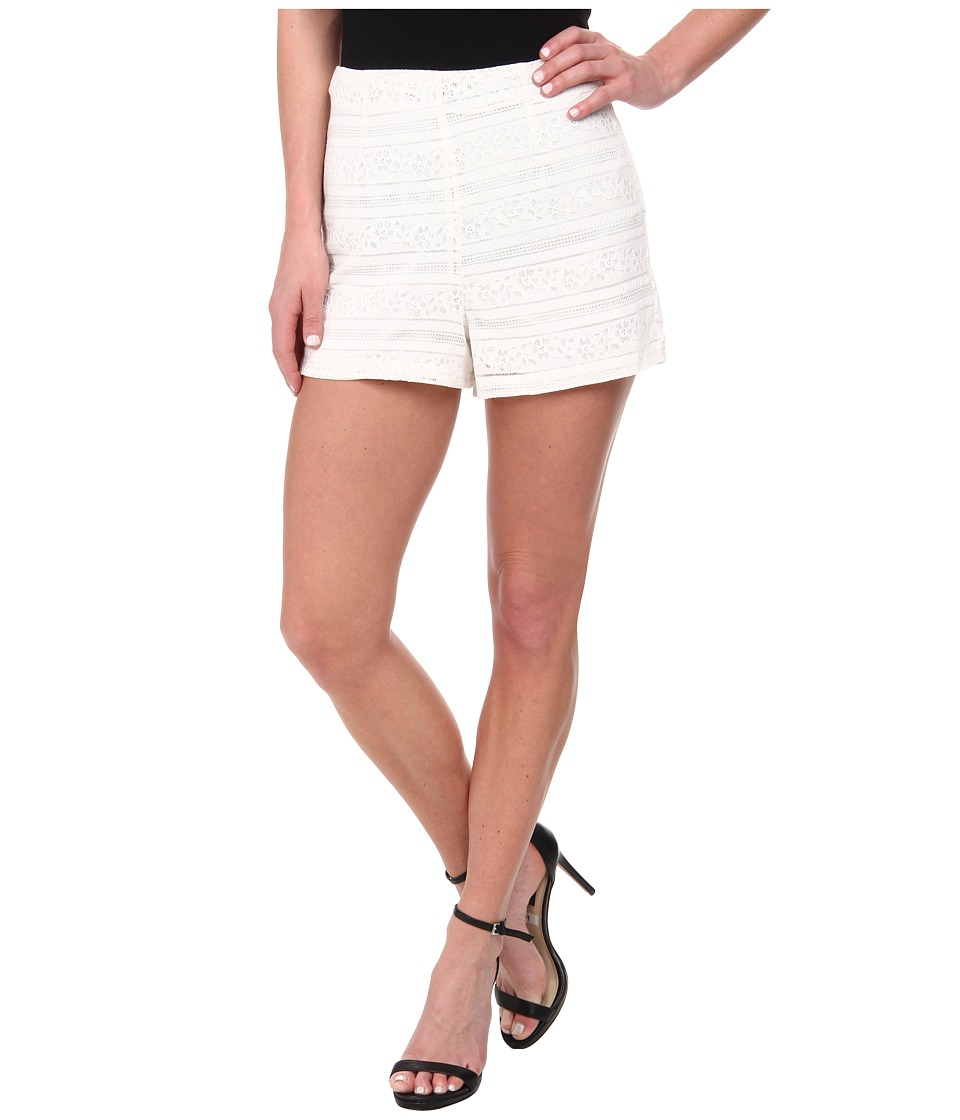 Jack by BB Dakota - Kaidence Stripey Lace Short (Ivory) Women's Shorts