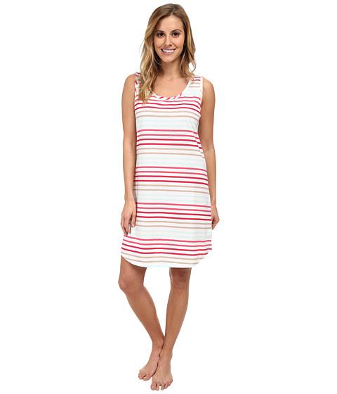 Jockey - Spring Pop Striped Chemise (Cynthia Stripe) Women