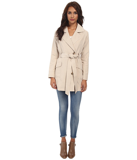 Jack by BB Dakota - Brydon Micro Twill Jacket (Tan) Women
