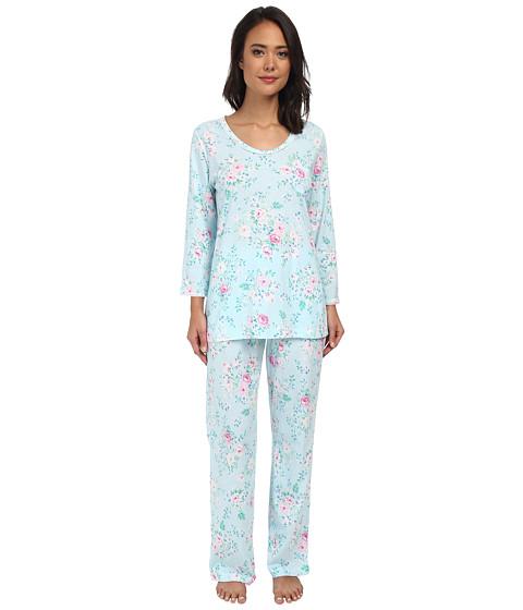 Carole Hochman - Printed 3/4 Sleeve Pajama (Blooming Roses) Women