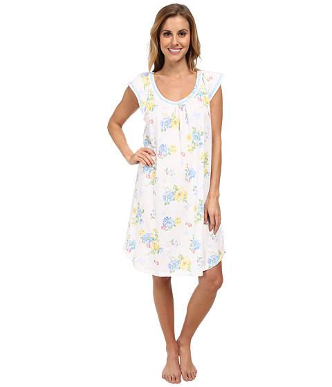Carole Hochman - Butterfly Garden Short Gown (Butterfly Garden) Women's Pajama