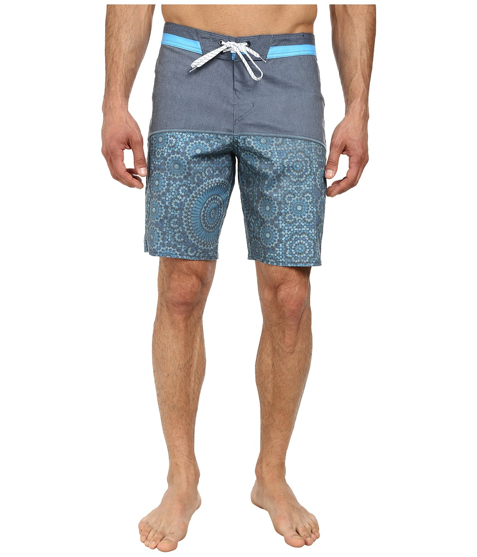 Billabong - Shifty X 19 Boardshort (Blue) Men's Swimwear