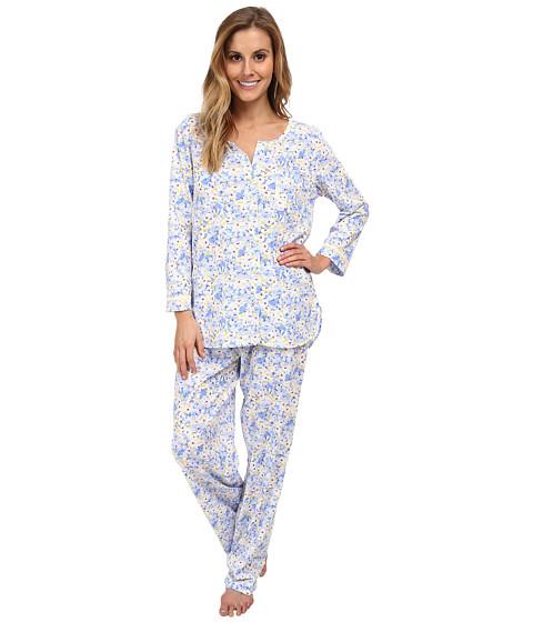 Carole Hochman - Butterfly Garden Pajama (Fresh Floral) Women's Pajama Sets