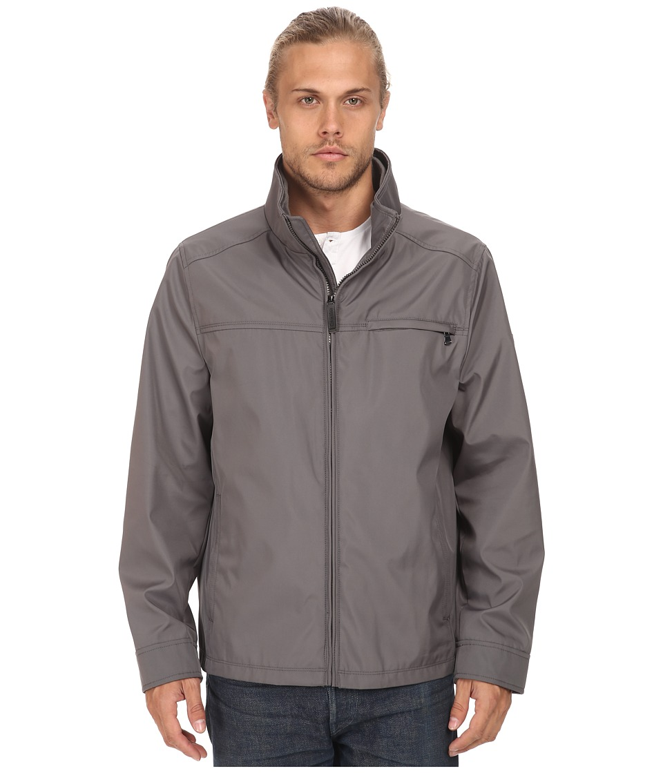 Calvin Klein - Three Seasons Water Resistant Coat (Covert Grey) Men's Coat