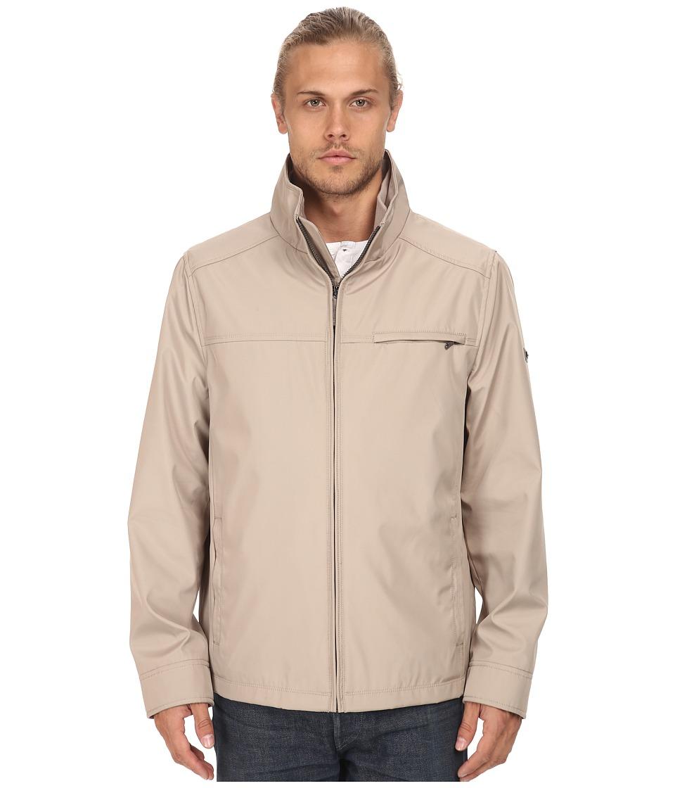 Calvin Klein - Three Seasons Water Resistant Coat (Taupe) Men