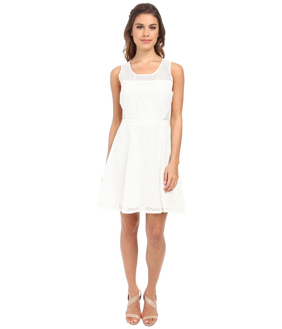Jack by BB Dakota - Ziva Eyelet Dress (Linen) Women's Dress