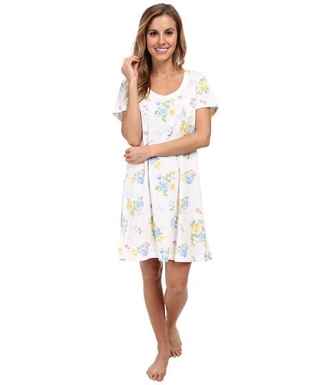 Carole Hochman - Printed Sleepshirt (Butterfly Garden) Women's Pajama