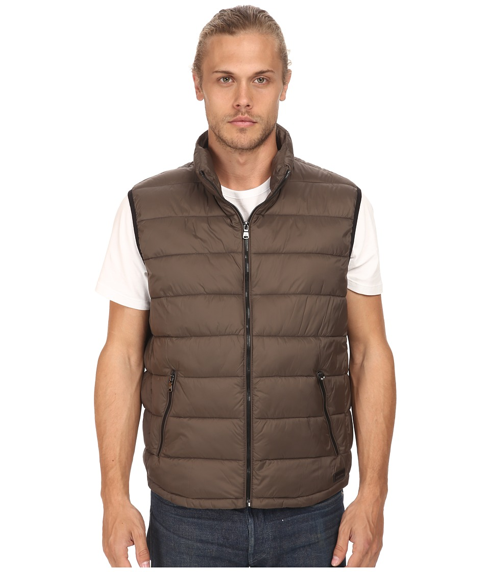 Calvin Klein - Packable Puffer Vest (Mineral) Men's Vest
