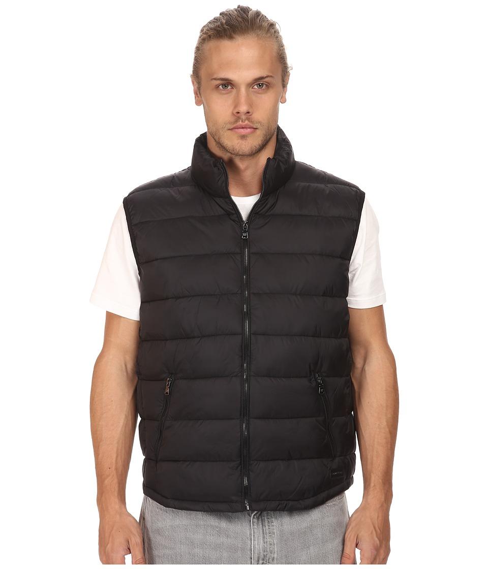 Calvin Klein - Packable Puffer Vest (Black) Men's Vest