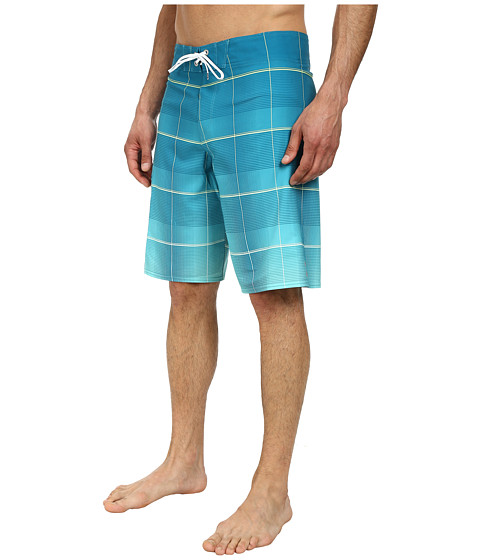 Billabong - All Day Plaid Boardshort (Marine) Men's Swimwear