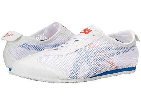 Onitsuka Tiger by Asics - Mexico 66 (White/Strong Blue) Shoes