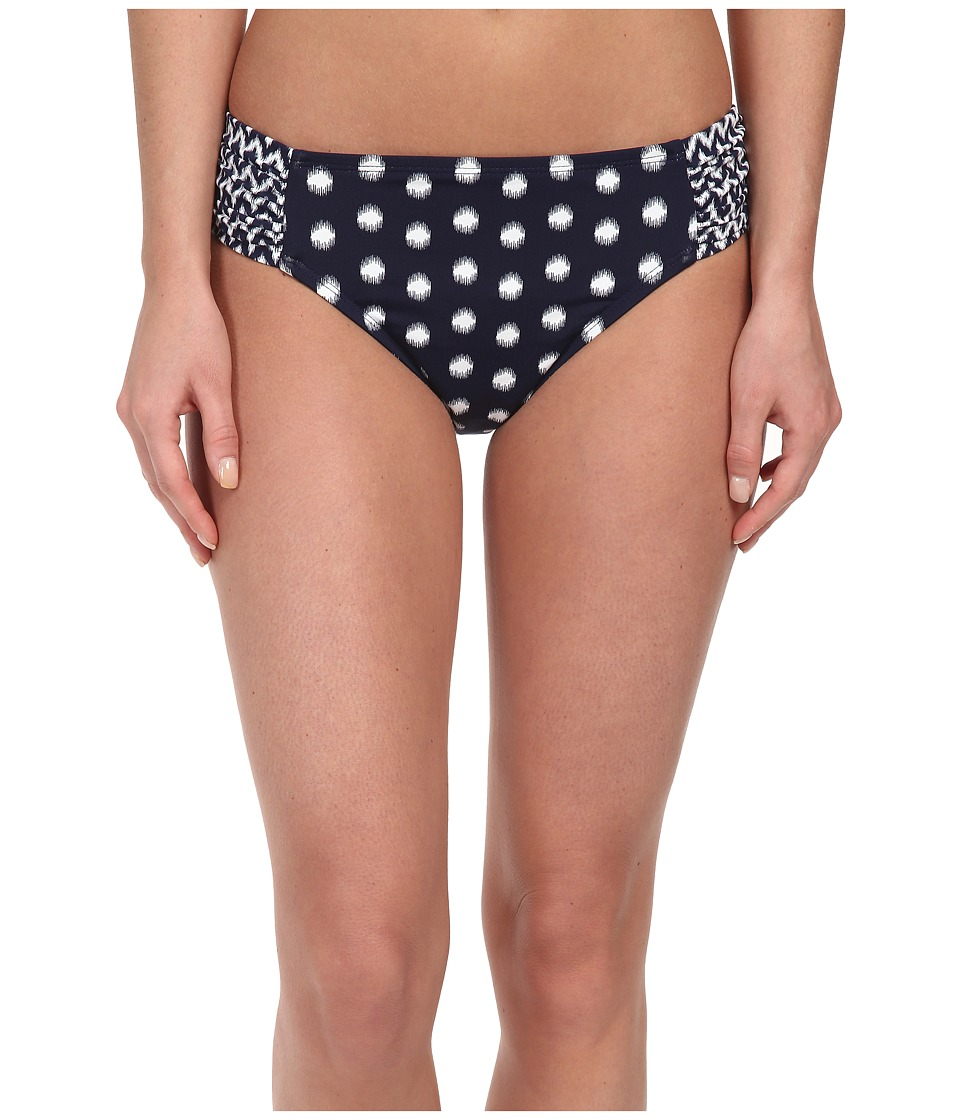 Bleu Rod Beattie - Hits The Spot Side Tab Hipster Bottom (Marine) Women's Swimwear