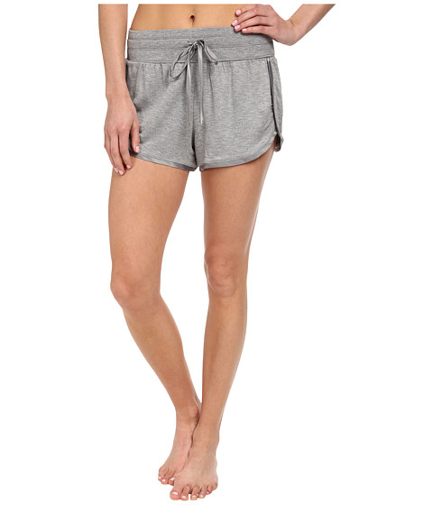 Midnight by Carole Hochman - Lounge Capsule Lounge Short (Heather Grey) Women's Pajama