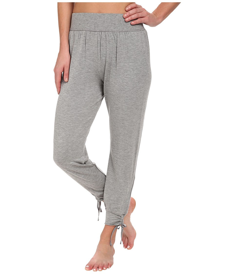Midnight by Carole Hochman - Lounge Capsule Lounge Capri Pant (Heather Grey) Women's Pajama